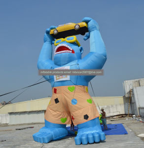 Inflatable Gorilla for Outdoor Advertising Giant Gorilla Cartoon Model pictures & photos