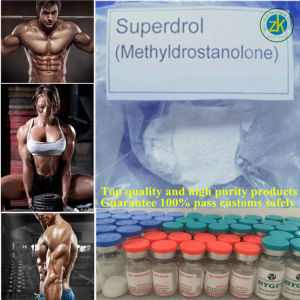Muscle Growth Anabolic Hormone Powder 17alpha-Methyl-Drostanolone Superdrol pictures & photos