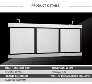 Snap Frame LED Light Box Slim Light Box for Chain Store Menu Board pictures & photos