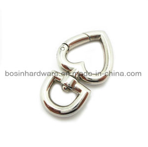 Swivel Heart Metal Spring Gate Ring pictures & photos