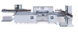 Program Control Paper Cutter (HPM115M15) pictures & photos