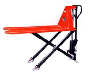High Quality 1000kg Manual Hydraulic High Lift Pallet Truck pictures & photos