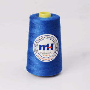Fine Quality Industrial Use 40/2 40s/2 100% Spun Polyester Sewing Thread 5000yds pictures & photos
