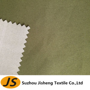 75D*200d Waterproof PU Milky Polyester Twill Fabric pictures & photos