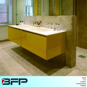 Tailor Color Lacquer Door Cabinet with Acrylic Stone Sink Top. pictures & photos