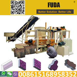 Qt4-18 Automatic Hydraulic Block Making Machine, Block Maker Machine Sales in Ghana pictures & photos