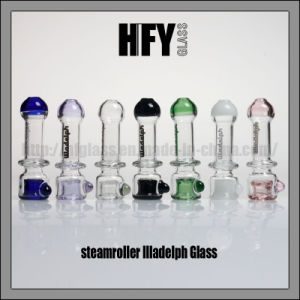 Hfy Glass Colorful Illadelph Hand Pipe Smoking Pocket Pipes Tobbacco Heady Hookah in Stock for Wholesale pictures & photos