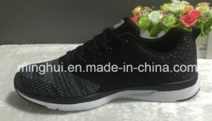 Chinese Manufacture Breathable OEM Fly Knitted Shoes Upper for Sports Shoes pictures & photos