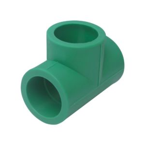 PPR Pipe PPR Fittings Tee for Cold and Hot Water Supply pictures & photos