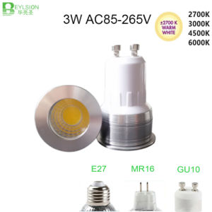 3W GU10 MR16 E27 Dimmable LED Spotlight pictures & photos
