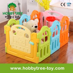 2017 Marcarons Color Square Shape Plastic Safety Fence for Children (HBS17056A)
