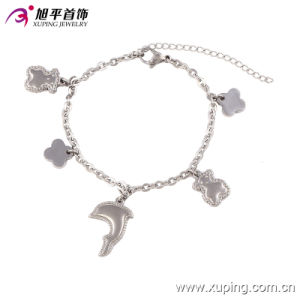 74256 Fashion Cute Rhodium-Plated Jewelry Bracelet Anklet for Women pictures & photos