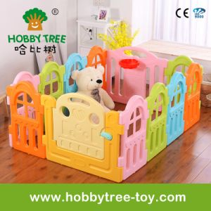 2017 Marcarons Color Square Plastic Kids Playard Indoor (HBS17058A)