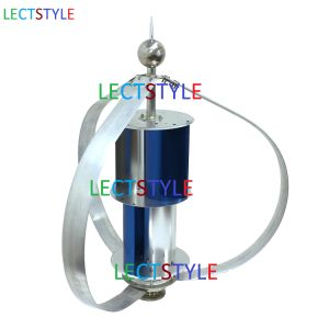 Lectstyle Lst2q400 Three Phase Permanent Magnet AC Synchronous Vertical Wind Generator 400W 24V Wind Generator Turbine pictures & photos