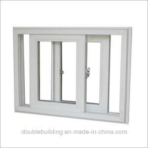 White Aluminum Window / Black PVC Window UPVC Profile pictures & photos