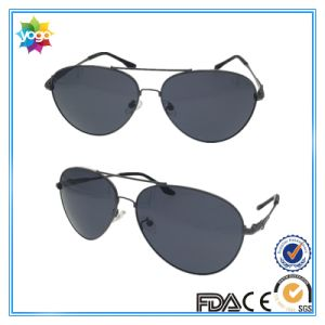 Travelling Alloy Man PC Lenses Sunglasses Custom Metal Logo pictures & photos