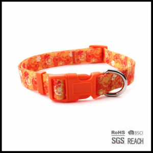 Fashion Fancy Pattern Sublimated Polyester Pet Dog Puppy Collar pictures & photos