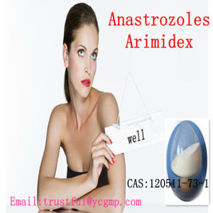 99% Purity Pharmaceutical Anastrozoles Arimidex CAS: 120511-73-1 for Breast Cancer pictures & photos