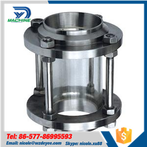 SMS 3A Stainless Steel Hygienic Butt Weld Sight Glass pictures & photos
