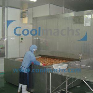 Shrimp Quick Freezing Production Line/Shrimp IQF Freezing Line pictures & photos