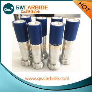 Tungsten Carbide Nozzle with Blue Rubber Sleeve and Aluminium Jacket pictures & photos