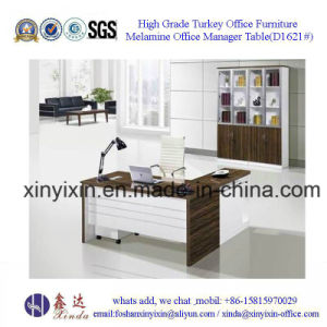 China Wooden Furniture Office Executive Desk with L-Shape (D1618#) pictures & photos