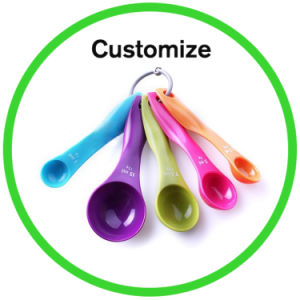 1g 10g Silicone Plastic Measuring Spoon pictures & photos