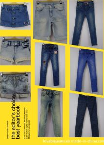Low Rise Jeans for Girls (PROTO23) pictures & photos