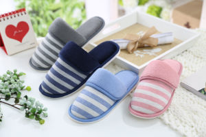 Lady′s Slipper Injection Sole Soft Home Slipper pictures & photos