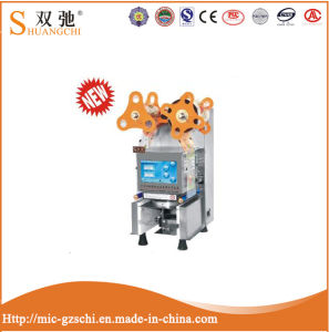 High Quality Fully Manual Cup Sealing Machine for Sale pictures & photos