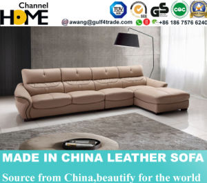 Modern Office Furnituretop Grain Leather Coiner Sofa (HC2055) pictures & photos