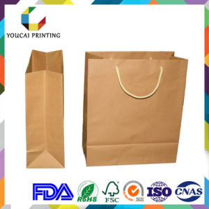 Twisted Upright Paper Handle Shopping Bag pictures & photos