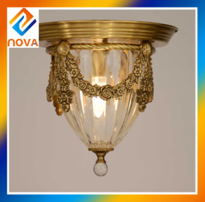Commercial Bronze Lighting Chandelier Lamp with Antique Design pictures & photos