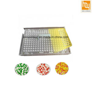 100 Holes Manual Capsule Filling Board Filling Machine pictures & photos