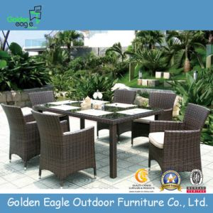 Wicker Table and Chairs - Outdoor Furniture (FP0038)