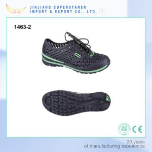EVA Summer Holey Breathable Shoes Men Sport Casual pictures & photos