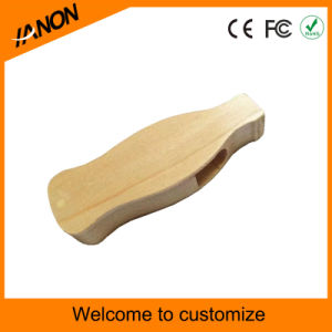 Swivel USB Flash Drive Twister Wooden USB Pendrive with Your Logo pictures & photos