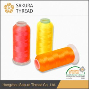 Sakura Brand Polyester Thread with Highly Attractive Gorgeous Gloss and Wide Color Series pictures & photos