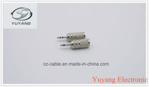 2.5mm Mono Plug to 3.55mm Mono Jack pictures & photos