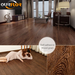 """Glue-Free and Self-Adhesive PVC Vinyl Flooring Tiles (6""""X36"""", 2mm) pictures & photos"""