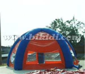 Outdoor Inflatable Camping Dome Tent with Good Price K5140 pictures & photos