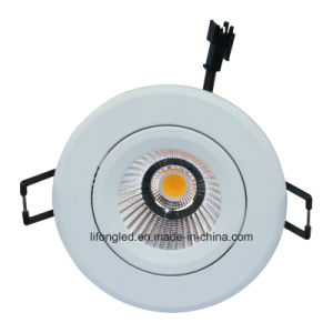 High Quality 9W Modern Recessed COB Dimmable LED Downlight pictures & photos