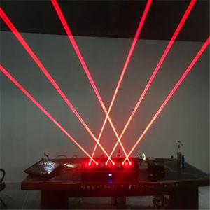 Red 300MW 6 Heads Beam Moving Head Laser Array pictures & photos
