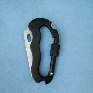 Multi Function Carabiner with Knife / Screwdriver pictures & photos