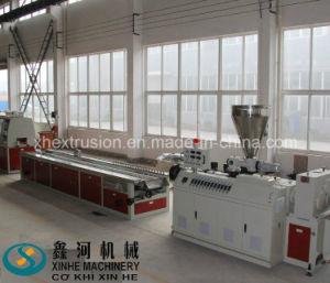 PVC Wood Plastic Foam Profile Extrusion Line/ WPC Production Machine pictures & photos