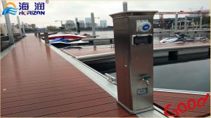 Use Stable Aluminum Frame Floating Dock for Pontoon Boat pictures & photos