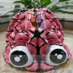 PVC or TPU Inflatable Brain Hat for Party pictures & photos