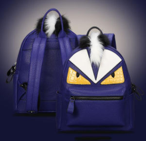 Popular Wholesale Handbags Designer School Bag Leather Monster Travel Backpack (SY7894) pictures & photos