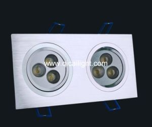 3X1w LED High Power Downlight pictures & photos