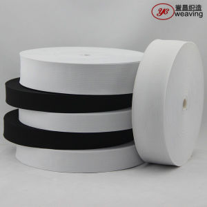 White Black Elastic Crochet Ribbon Rolls for Clothes pictures & photos